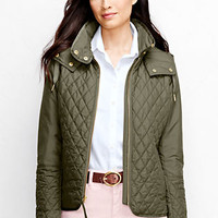 Women's Quilted Primaloft Jacket from Lands' End