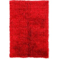 Linon Home Decor New Flokati Red 2 ft. 4 in. x 4 ft. 3 in. Area Rug-FLK-NFRR25 at The Home Depot
