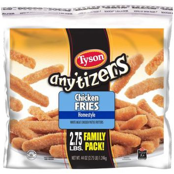 Tyson Any'tizers Homestyle Chicken Fries, 44 oz - Walmart.com