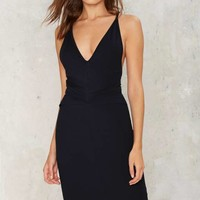 Come of Cage Midi Dress