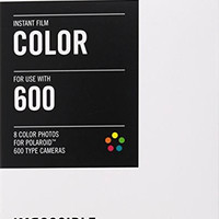 Impossible PRD2785 Color Film for Polaroid 600-Type Cameras