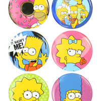 SIMPSONS BUTTON PACK