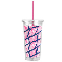 Lilly Pulitzer Cold Drink Tumbler - Cute as Shell