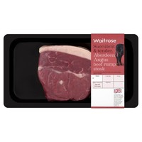 Aberdeen Angus Rump Steak Waitrose at Ocado
