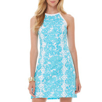 FINAL SALE - Pearl Halter Shift Dress - Lilly Pulitzer