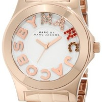 Marc by Marc Jacobs Rivera Rose Gold Ion-plated Unisex Watch MBM3138