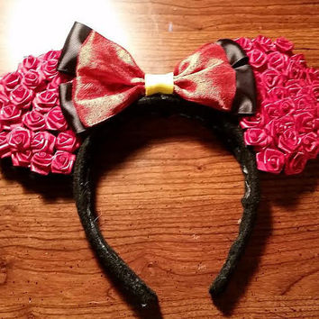 "Disney's ""Alice in Wonderland"" Queen of Hearts inspired Mickey ears headband"