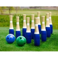 Sterling Sports Wooden Lawn Bowling