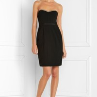 BCBGMAXAZRIA - SHOP BY CATEGORY: DRESSES: VIEW ALL: STRAPLESS CREPE DRESS