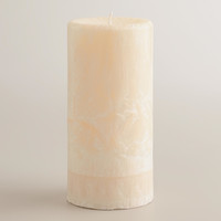 "6"" Vanilla Bean Pillar Candle - World Market"