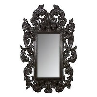 One Kings Lane - Kathleen Koszyk Designs - Botticelli Modern Mirror, Black