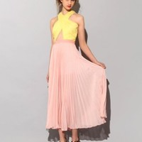 Pastel pleated dress SOLD OUT [Thf1943] - $208 : Pixie Market, Fashion-Super-Market