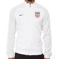 Nike N98 USA Authentic Track Soccer Jacket (White)