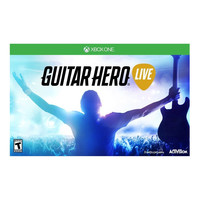 Guitar Hero Live Xbox One Video Game and Guitar Bundle