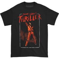 Michael Jackson Men's  MJ Thriller T-shirt Black