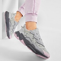 Adidas Women's Ozweego Grey One/Grey Two-Clear Pink Sneakers Shoes