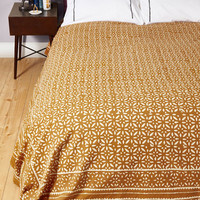 Boho Rustic and Restful Blanket by Karma Living from ModCloth