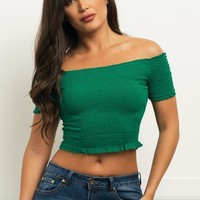 Meredith Top - Green