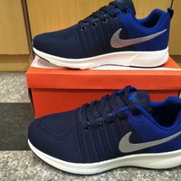 """Nike"" Men Sport Casual Flyknit Multicolor Sneakers Running Shoes"