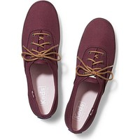 Keds Champion Canvas Lace Up Shoes
