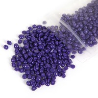 50g Depilatory Body Hair Removal lavender Flavor Hard Wax Bead Waxing Pellet No Strip Waxing Bead Legs Epilation for Body Beauty