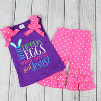 """""""Who Needs Eggs"""" Easter Outfit"""