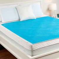 All Sizes Now Available! Hydraluxe Always Cool Gel Mattress Pad by Comfort Revolution