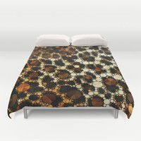 Cheetah Print Fancy Pattern Duvet Cover by Amy Anderson   Society6