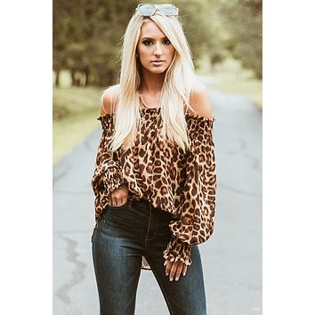 LEOPARD LOVE OFF THE TOP