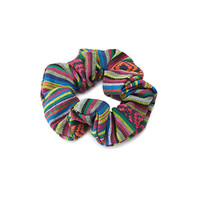 Southwestern-Patterned Scrunchie