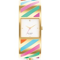 kate spade new york Stripe Delacorte Watch, 25mm | Bloomingdale's