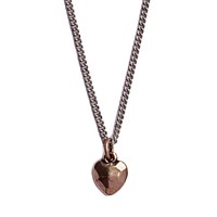 Facets Heart Necklace for Men