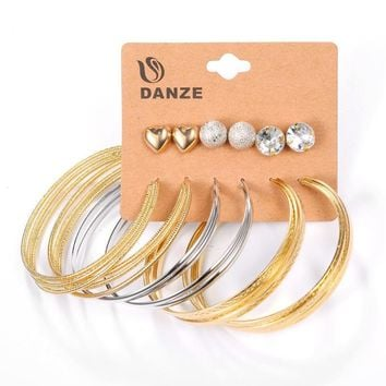 Stylish Earrings Rhinestone Hot Sale Set [132684513300]