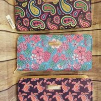 Turtles, Pineapples, Paisley Wallets - Simply Southern
