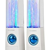 SoundSoul Dancing Water Wireless Speakers, IPod, MP3 & 4 and PC compatible