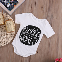 Newborn Infant Baby Boy Girl Clothes Cotton Romper Jumpsuit Outfits Baby Romper