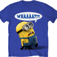 DESPICABLE ME Whaaa  S M L XL XXL tee t Shirt NEW movie licensed
