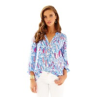 Elsa Top - Red Right Return - Lilly Pulitzer