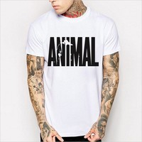 Hot Sale Print Cotton Short Sleeve Men Summer T-shirts [6541130755]