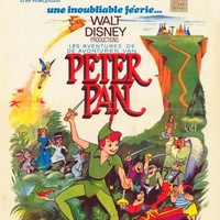 Peter Pan (Belgian) 11x17 Movie Poster (1953)