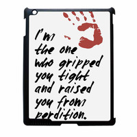 Supernatural Gripped You Tight iPad 3 Case