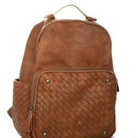 Faux Leather Country Girl Backpack