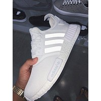 Adidas NMD r1 breathable woven sports casual running shoes sneakers-2