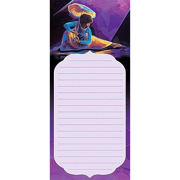 Praise Dancer Magnetic Notepad