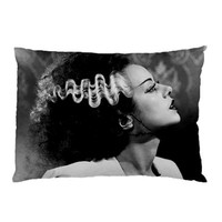 Frankenstein and Bride of Frankenstein His and Hers Pillow Cases