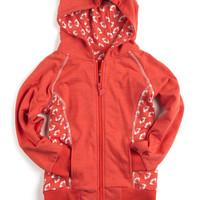 Appaman Unisex Graphic Hoodie in Hot Lava - FINAL SALE