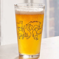 Kitty Pint Glass | Urban Outfitters