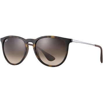 Erika Sunglasses Tortoise with Brown Gradient Lenses RB4171 865/13