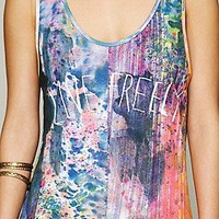 One Teaspoon  Live Freely Vintage Tank at Free People Clothing Boutique