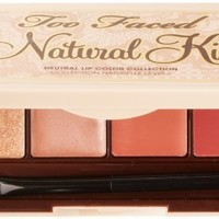 Too Faced Natural Kiss Neutral Lip Color Collection, 0.16 Ounce